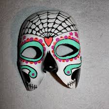 Whole Mask Designs Form Phantasm Diy Day Of The Dead Mask