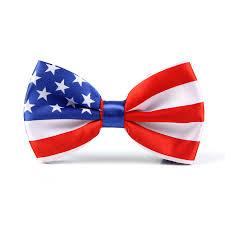 Mens American / USA FLAG Tuxedo Formal Dress Bow <b>tie New</b> ...