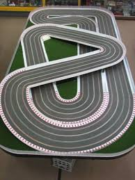 best images about slot car layouts slot car wooden slot car tracks for google search