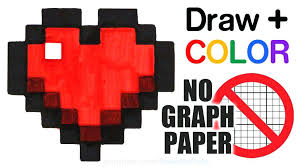 Grid Paper Drawings Graph Easy Drawing Arlingtonmovers Co