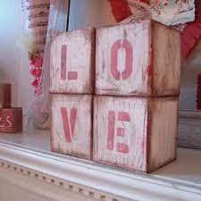 block letters large wood letter blocks love romance home decor dorm room teen bedroom wooden signs