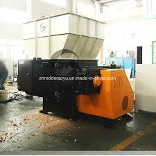 china diy plastic shredder china diy plastic shredder one shaft shredder