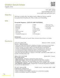 Resume Graphic Designer Sample – Resume Bank