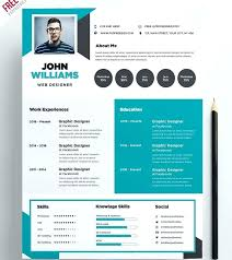 Free Modern Resume To Download Web Design Resume Template Microsoft Word Free Download Creative