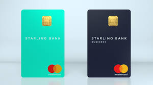 On Line Cards Online Bank Starling Introduces Vertical Bank Card