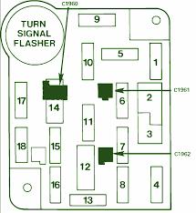 1993 wrangler fuse diagram 1993 automotive wiring diagrams 83 ford bronco fuse box diagram