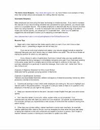 Example Of Resume Summary Statements Resume Summary Example Of A