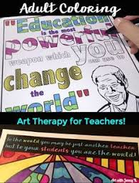 coloring art therapy for teachers