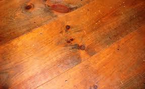 image of reclaimed wide plank pine flooring
