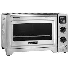 kitcheaid 12 convection toaster oven stainless steel toasters best canada