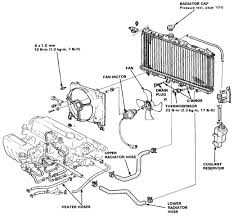 honda accord 88 radiator diagram and schematics