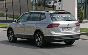 2018 volkswagen tiguan lwb. contemporary lwb vw tiguan allspace prototypes and 2018 volkswagen tiguan lwb i