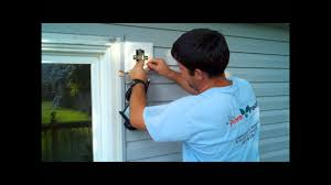 How To Mount Lights On Vinyl Siding Installing Exterior Home Depot Or Lowes Light Fixture Wmv