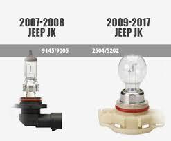 Jeep Wrangler Fog light bulb styles resize=405 336