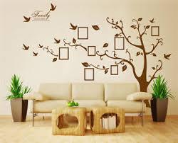 image is loading x large family tree bird photo frame wall  on family tree wall art stickers uk with x large family tree bird photo frame wall quote art wall stickers uk