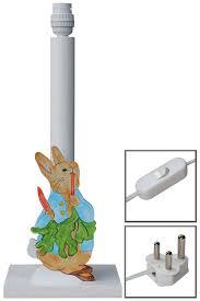 peter rabbit lamp base