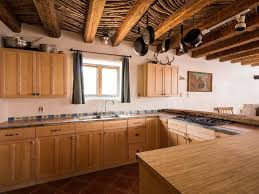 Limestone Floor Tiles Kitchen Kitchen With Flat Panel Cabinets Wood Counters Zillow Digs