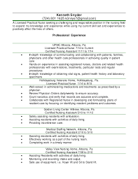 Practical Nurse Resume 69 Images Resume Examples Young Adults