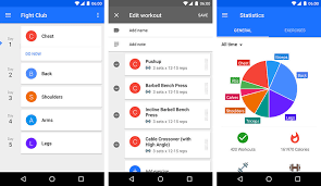 you can even backup and synchronize your exercise sessions and programs to other android devices using its dropbox integration