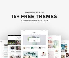 Wordpress Blog Design Free 15 Free Minimalist Wordpress Themes And Templates For Blogs