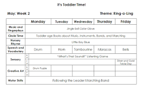 Toddler Lesson Plan Template – 9 Toddler Lesson Plan Templates Pdf ...