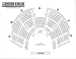 Ocean Center Seating Chart 25 Rigorous Stage Direction Chart