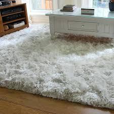 round area rugs white plush rug with grey fluffy uk