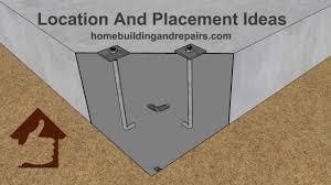 Through Bolt Design In Concrete Anchor Bolt Location For Concrete Foundation Three Bedroom Home Design