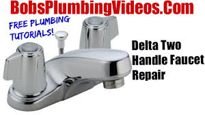 delta faucet cartridge repair you