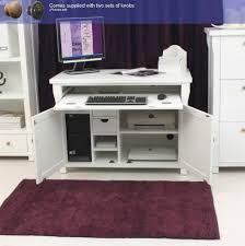 hideaway home office. Amazing Oak Hideaway Home Office Computer Desk Modern