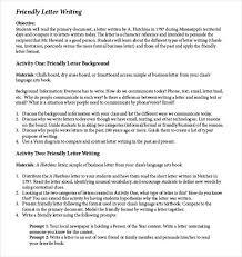 Basic Friendly Letter Writing Download