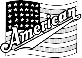 Small Picture American Coloring Page Coloring Book