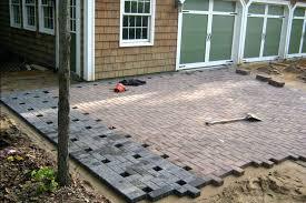 patio pavers lowes. Pavers Backyard Sport Court Design In Progress Driveway Patio Lowes