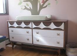 painted mid century furniturePainted mid century dresser  Furniture Refinishing  Pinterest