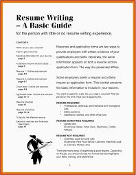 Best Resume Outline Examples 25 Cover Letter Model Format Popular