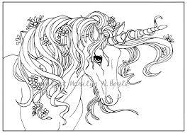 fantasy unicorn coloring page printable fantasy unicorn coloring fantasy unicorn free coloring