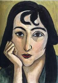 Head of Lorette with Curls, 1917 - Henri Matisse - WikiArt.org