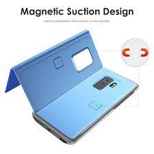Online Shop Clear View Mirror <b>Smart Flip Case For</b> Samsung ...