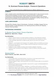Senior Business Analyst Resume Senior Business Analyst Resume Sample ...