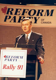 Reform Party - Preston Manning - Emerging Alberta - Digital Collections