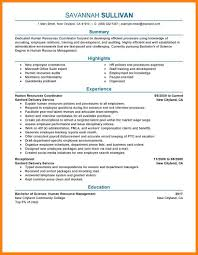 9 Hr Resume Examples Letter Of Apeal