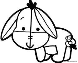disney cuties eeyore coloring pages gallery 13j save it to your computer