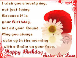 Beautiful Birthday Quotes For Sister In Law Best Of Imagesicon