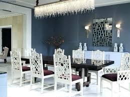 dining room modern crystal chandelier image design