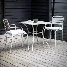 deco garden furniture. metal outdoor table u0026 2 chair set in colours u2013 allissias attic vintage french deco garden furniture t