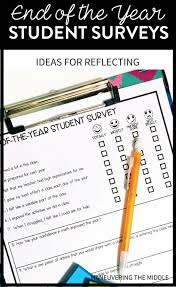 Student Surveys: An End-Of-The-Year Reflection - Maneuvering The Middle
