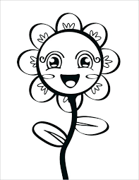 Spring Flowers Coloring Pages Ohioairinfo