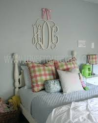 wood monogram wall decor painted initials hanging wooden letters wedding office housewares home dec