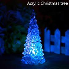 Light Up Acrylic Cane Elever Christmas Led Decoration Santa Claus Christmas Tree Shape Indoor Decorations Christmas Led Night Light For Kids Room Acrylic Christmas Tree
