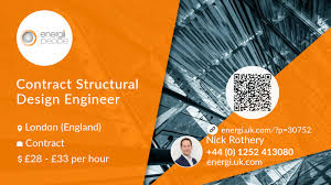 Graphic Design Jobs London England Contract Structural Design Engineer Job London Energi People